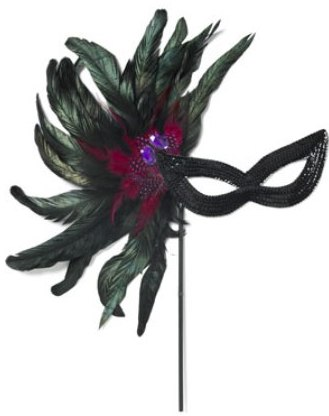 Accessorize - feather mask