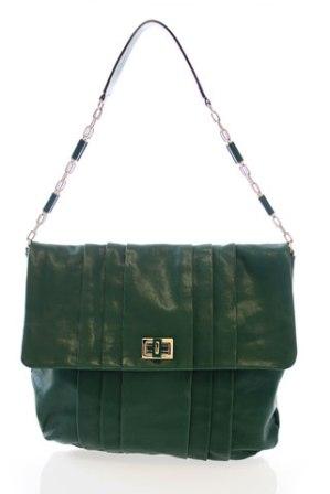 Anya - green leather 2010