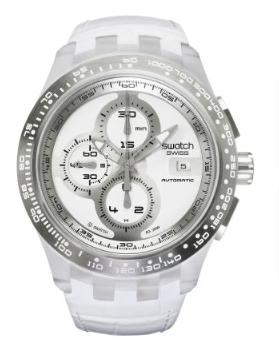 Swatch - Right Track White