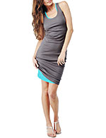 Splendid - Grey Dress