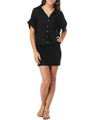Splendid - Jersey Shirt Dress