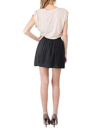 Splendid - Dress - Blk Wht 2