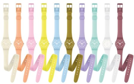 Collection Swatch Swatch Lady Collection