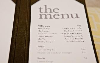 DB menu