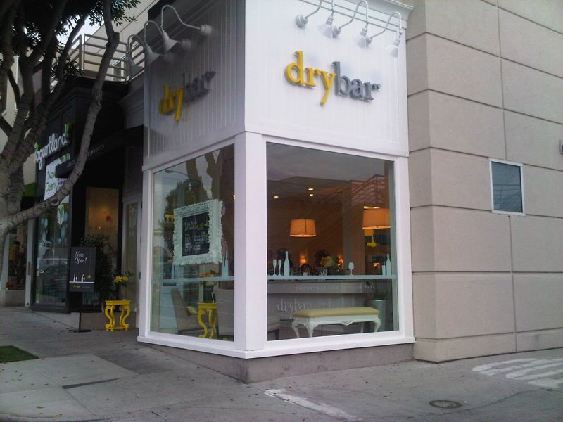 Drybar - Santa Monica - Nov. 2012