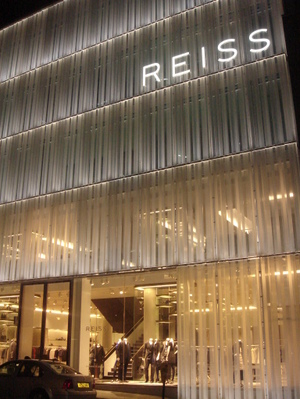 0d3562e2de The luxuriously-designed new Reiss flagship store and international  headquarters has opened on London s Barrett Street